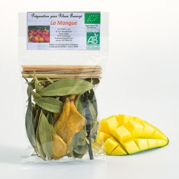 Sachet rhum arrangé mangue