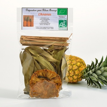 Sachet rhum-arrangé bio ananas