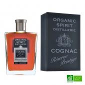 Coffret Cognac bio XO 30 ans Réserve Prestige ORGANIC SPIRIT 70cl