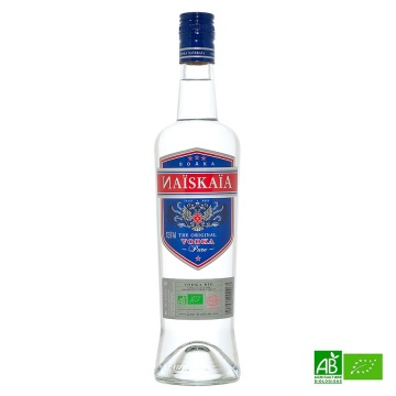 Vodka bio NAÏSKAÏA 70cl