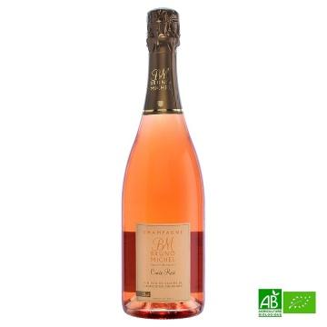 Champagne bio Bruno MICHEL Rosé 2015