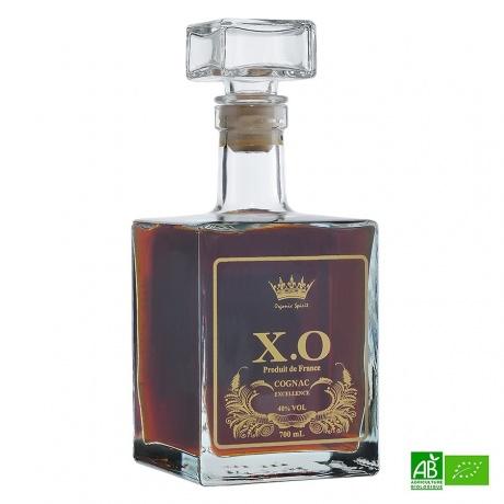 Cognac bio Organic Spirit Carafe 20 ans