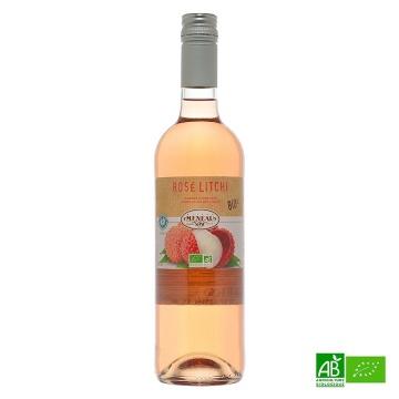 Rosé Litchi biologique 75cl