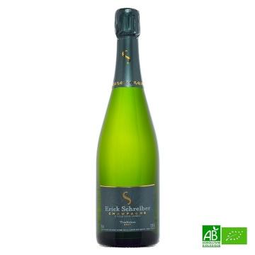Champagne bio Brut Tradition AOC Schreiber 75cl