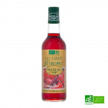 Sirop de sucre de canne roux GRENADINE bio équitable 50cl