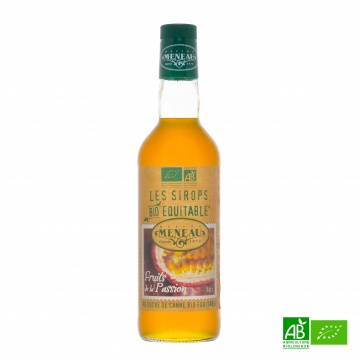 Sirop de canne FRUIT DE LA PASSION bio 50cl