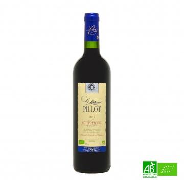 Vin rouge bio Côtes de Bourg 2015 AOC 75cl