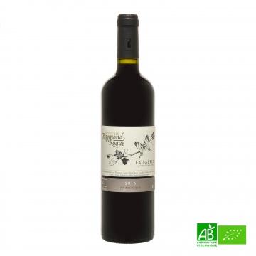 Vin rouge bio Faugères 2016 AOP 75cl