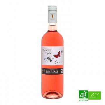 Vin rosé bio Faugères AOC Eudemis 2016 75cl