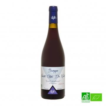 Vin rouge bio Bourgogne Hautes Côtes De Nuits 2015 AOC 75cl