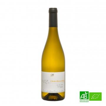 Vin blanc bio sec Chardonnay IGP Stéphane Lorieux 75cl