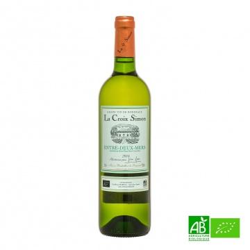 Vin blanc sec bio La Croix-Simon AOC Entre-Deux-Mers 75cl