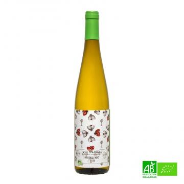 Vin blanc bio Riesling AOC 2017 75cl 12,5%vol