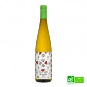 Vin blanc bio Riesling AOC 2015 75cl