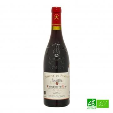 Vin rouge bio Châteauneuf-du-Pape AOC Domaine Fontavin 2015 75cl