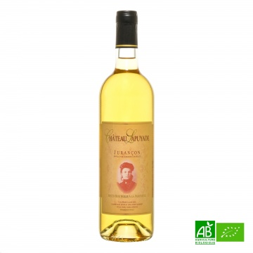 Vin blanc doux bio Jurançon Moelleux AOC 2018 75cl Château Lapuyade