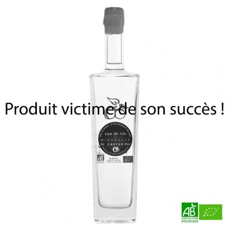 Eau de vie de Mirabelle bio Distillerie CASTAN