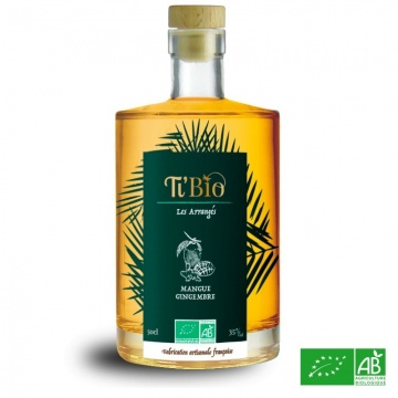 Rhum arrangé Mangue-Gingembre 50cl