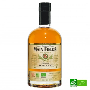 Whisky bio Main Fields 70 cl