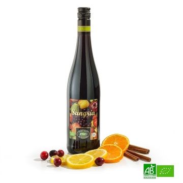 Sangria rouge bio 75cl 8%vol
