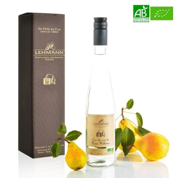 Eau de Vie de Poire Williams bio Distillerie Lehmann 50cl