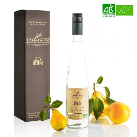 Eau de Vie de Poire Williams bio Distillerie Lehmann