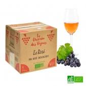 """Rosé Bio 3L 11,5%vol """"Bag in Box"""""""