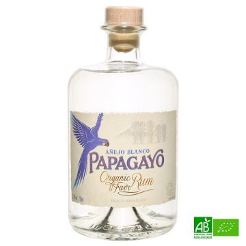 Rhum Blanc Bio PAPAGAYO 70cl 37,5%vol