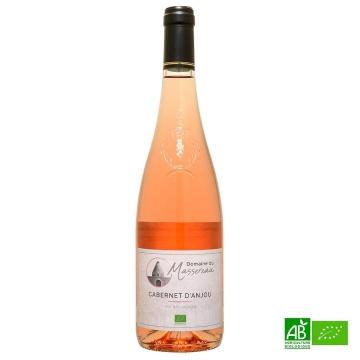 Cabernet d'Anjou rosé bio Domaine du Massereau 2019