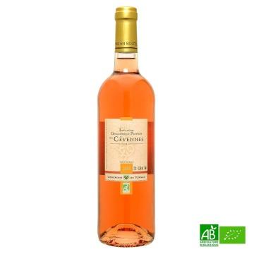 Rosé bio des Cévennes IGP Vignerons de Tornac 2018