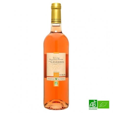 Rosé bio des Cevennes vigneron de Tornac 2018