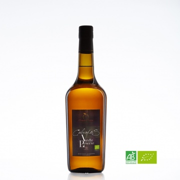 Calvados bio Vieille Réserve Claque Pépin