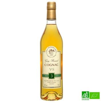 Cognac VS bio 3 ans d'âge Pinard 70cl 40%vol