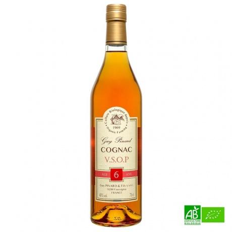 Cognac Bio VSOP Pinard 40%vol 70cl
