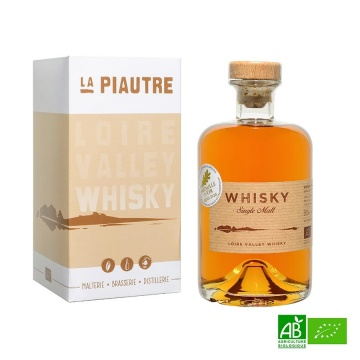 Whisky Français bio single malt Loire Valley - 50cl 46%vol