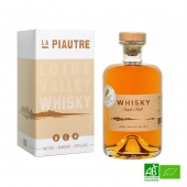 Whisky Français bio La Piautre - 50cl 46%Vol