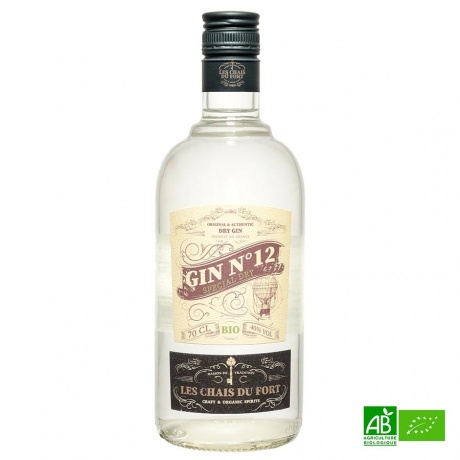 Gin bio Les Chais du Fort