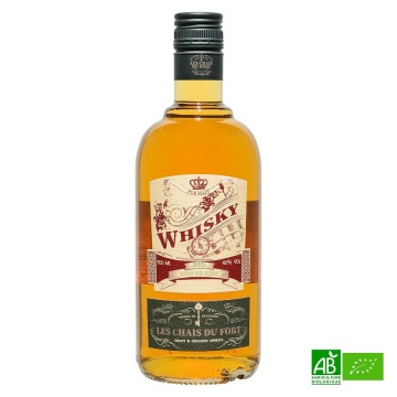 Whisky Bio Les Chais du Fort 70cl - 40%vol