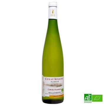 Gewurztraminer AOC bio Vin d'Alsace Domaine Bollenberg 75cl