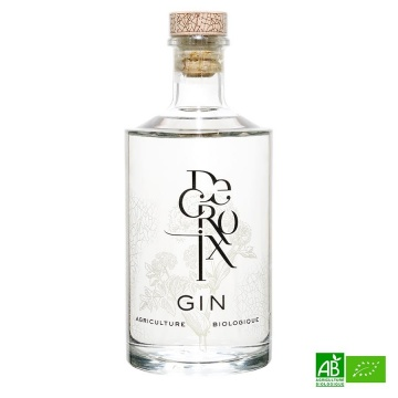 Gin français bio DECROIX 70CL 45%Vol