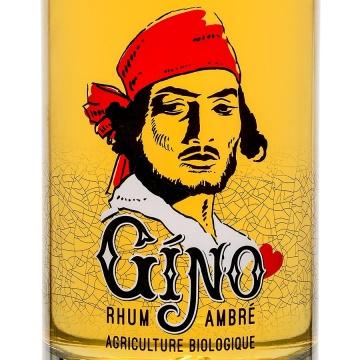 Rhum ambré bio GINO 70cl 42,2%Vol