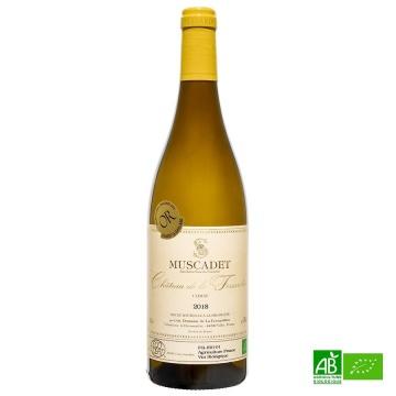 Muscadet AOC bio La Fessardière 2018 75cl 12%Vol