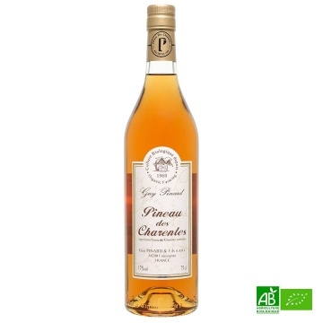Pineau des Charentes AOC Bio Blanc Guy Pinard 75cl