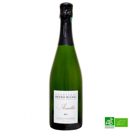 Champagne bio Bruno MICHEL Cuvée Blanche 2015