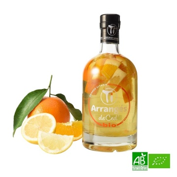 Rhum de Ced bio orange-citron 70cl 21%vol