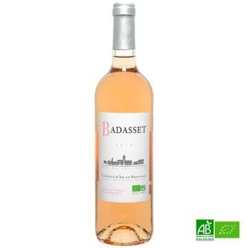 Coteaux d'Aix en Provence AOP rosé bio Château Badasset 2019 12%vol