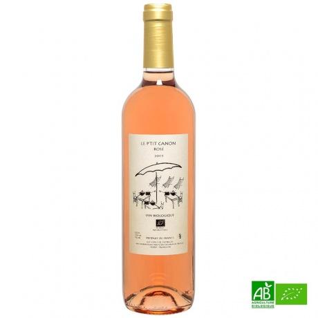 Côtes de Thongue IGP rosé bio Le P'tit Canon 2019 75cl 13%Vol