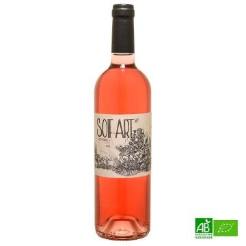 Vin rosé Côtes du Tarn IGP bio Soif'Art 2019