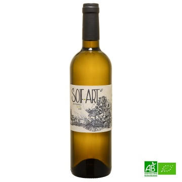 Vin blanc Côtes du Tarn IGP bio Soif'Art 2018