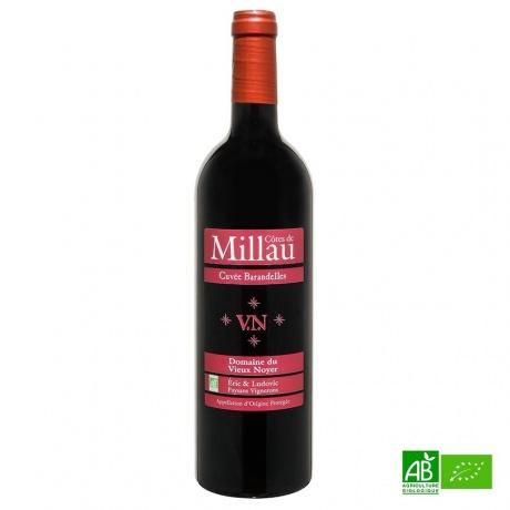 Côtes de Millau AOP bio 2018 75cl 12,5%Vol